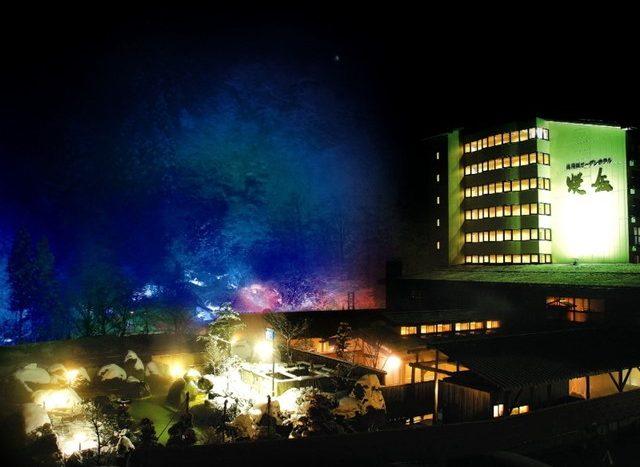 Y31 岐阜縣日本大型旅館 可享受觀光客用的澡堂喔!(接待客人)